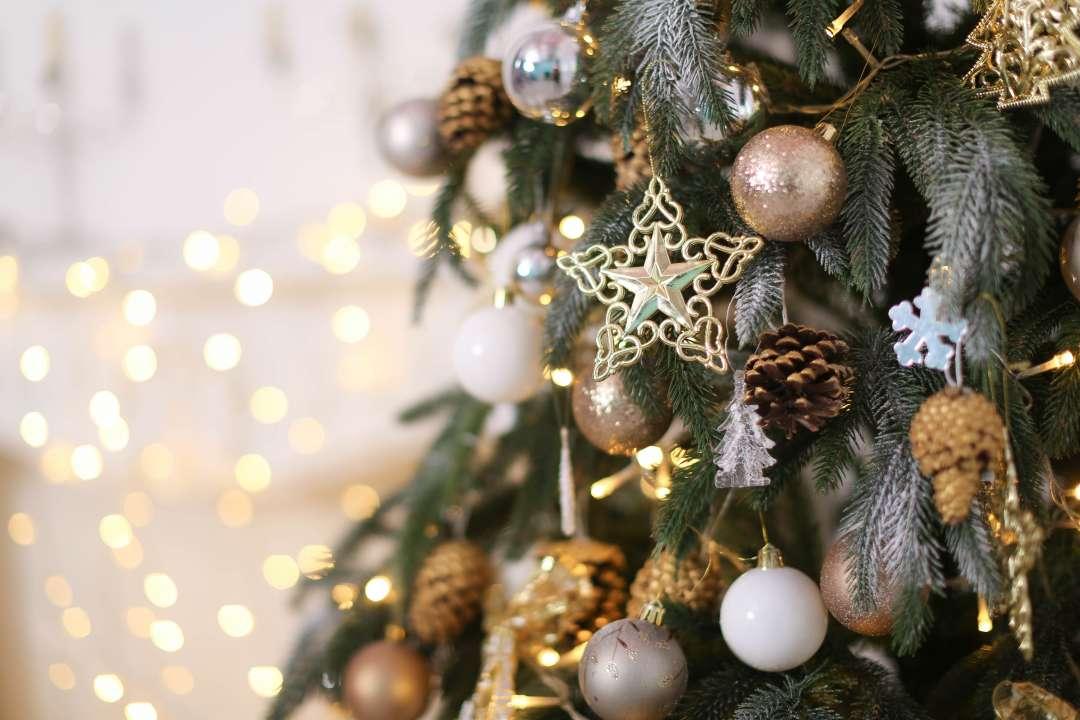 Kerstdecoratie tuincentrum De Bruijn