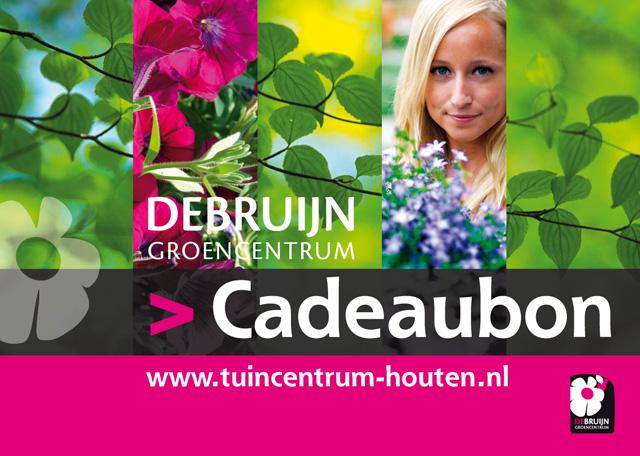Cadeaubon van Tuincentrum De Bruijn